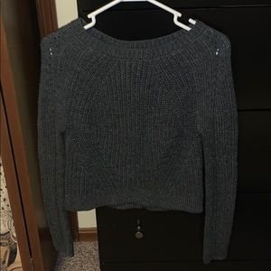 Wet Seal cropped sweater
